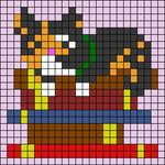 Alpha pattern #68676