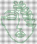 Alpha pattern #68701