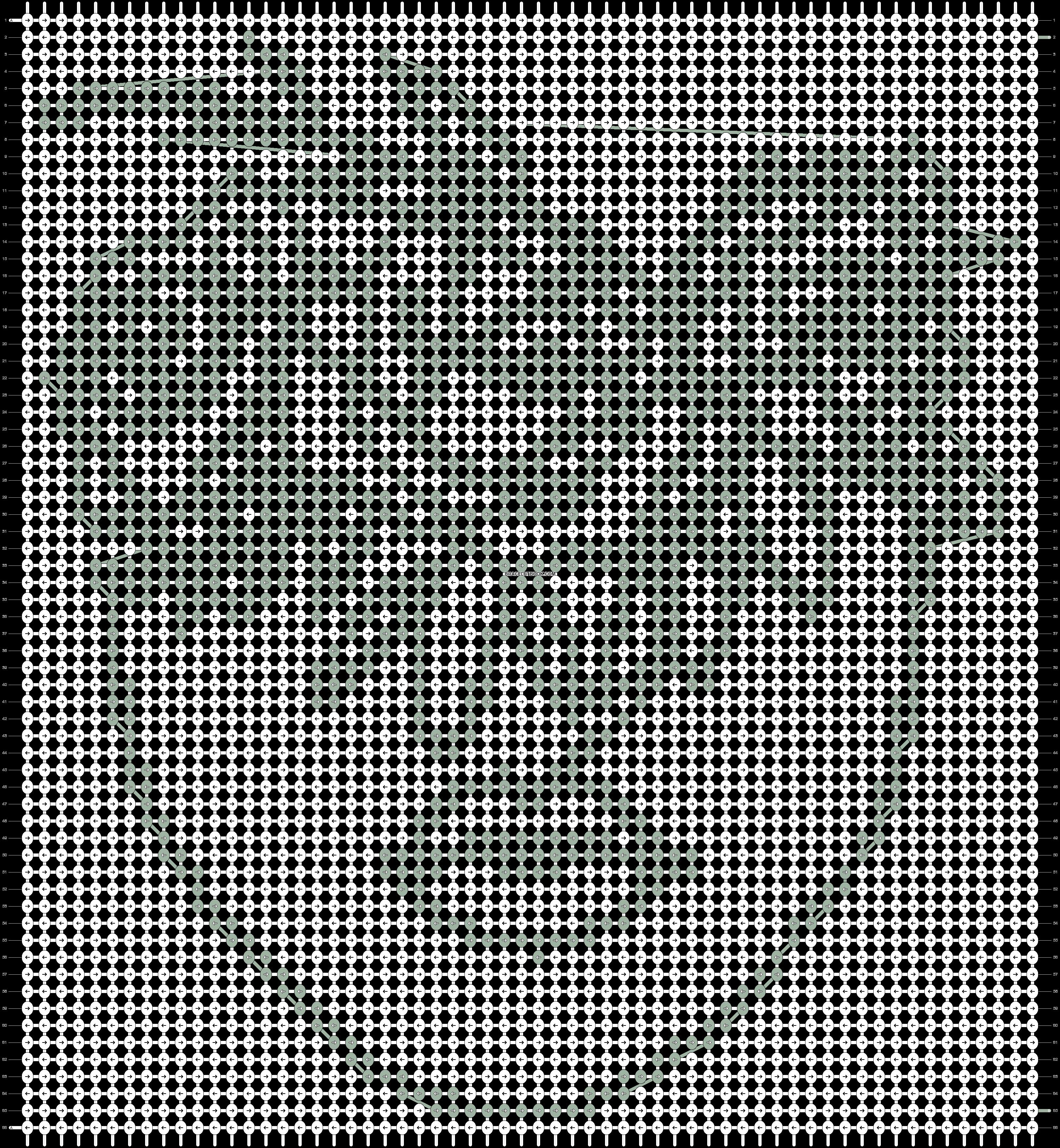 Alpha pattern #68703 pattern