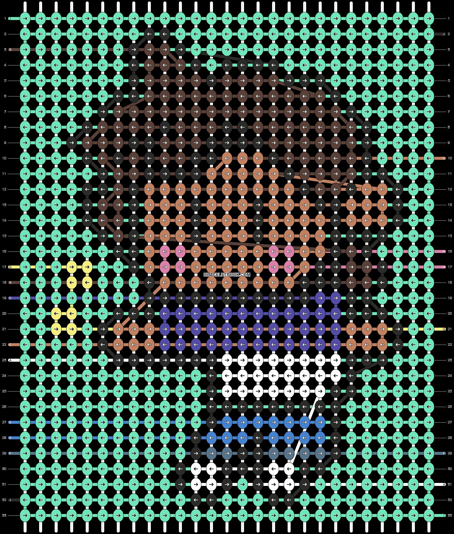 Alpha pattern #68711 pattern