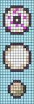 Alpha pattern #68726