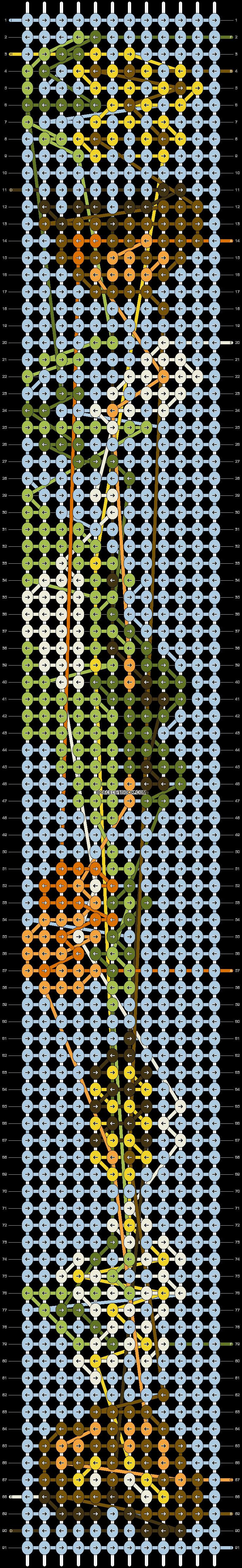 Alpha pattern #68727 pattern