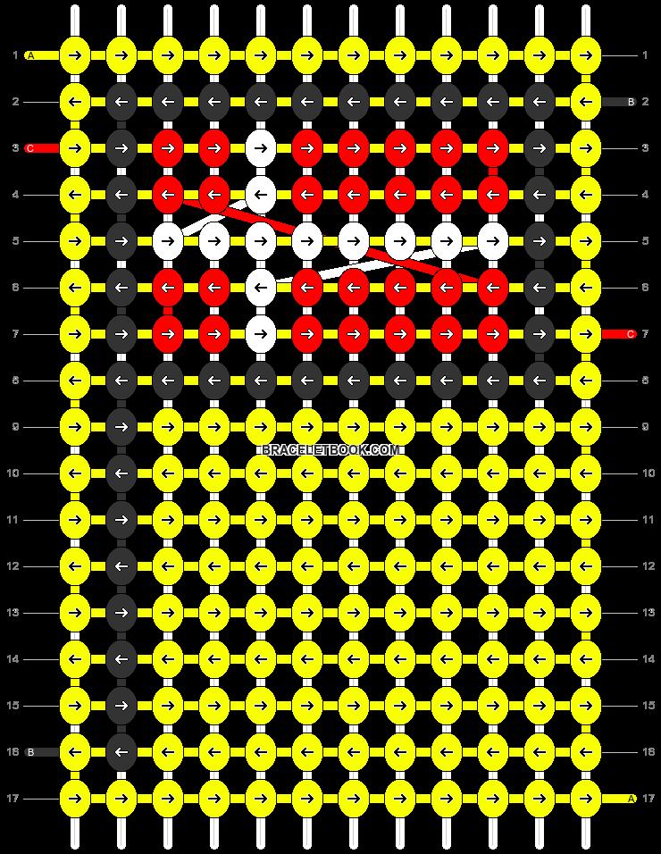 Alpha pattern #68731 pattern