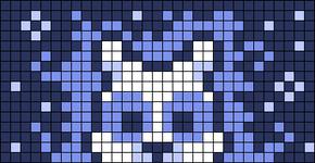 Alpha pattern #68739