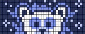 Alpha pattern #68743