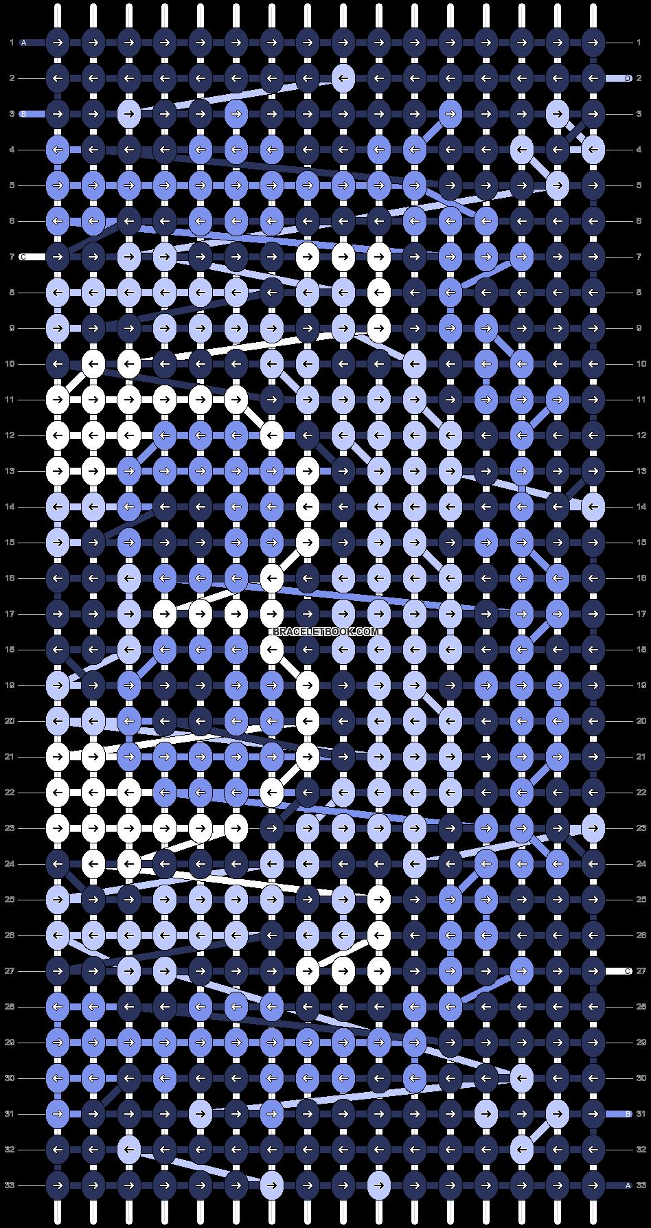 Alpha pattern #68751 pattern