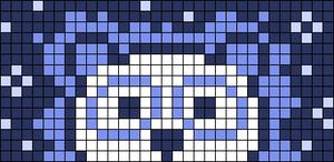 Alpha pattern #68752