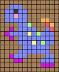Alpha pattern #68756