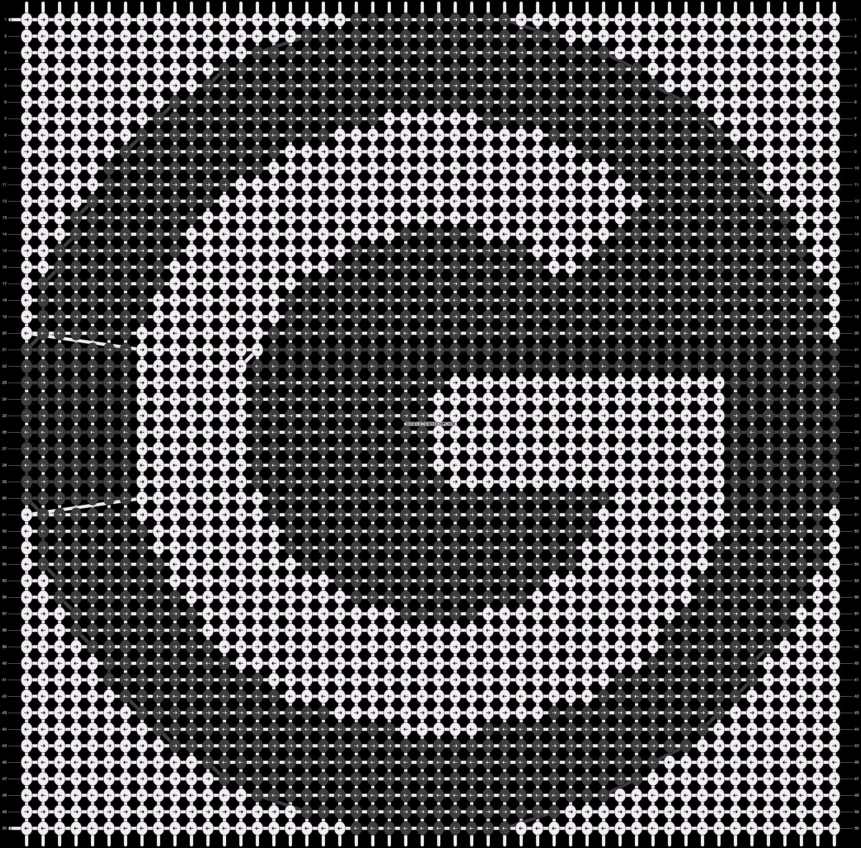 Alpha pattern #68764 pattern