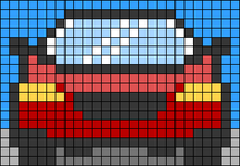 Alpha pattern #68770