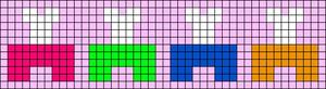 Alpha pattern #68782