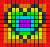 Alpha pattern #68787