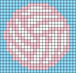 Alpha pattern #68806
