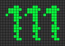 Alpha pattern #68830