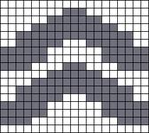 Alpha pattern #68838