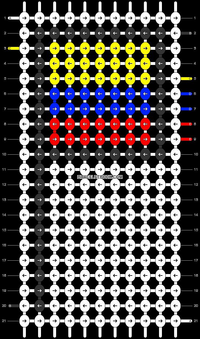 Alpha pattern #68842 pattern