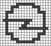 Alpha pattern #68846