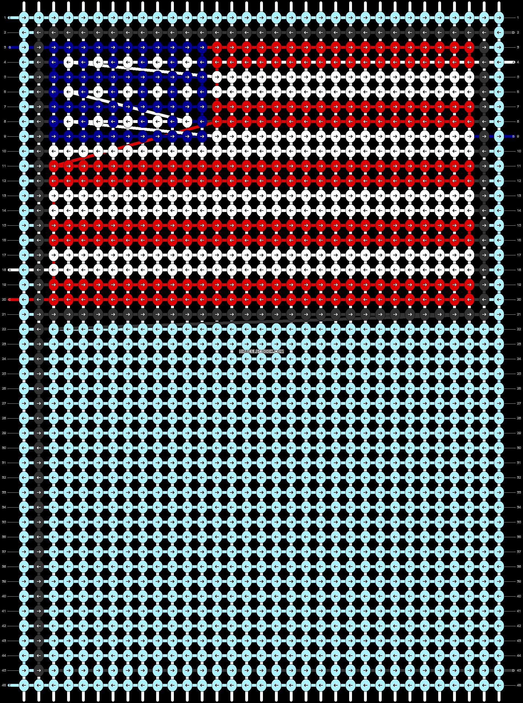 Alpha pattern #68849 pattern