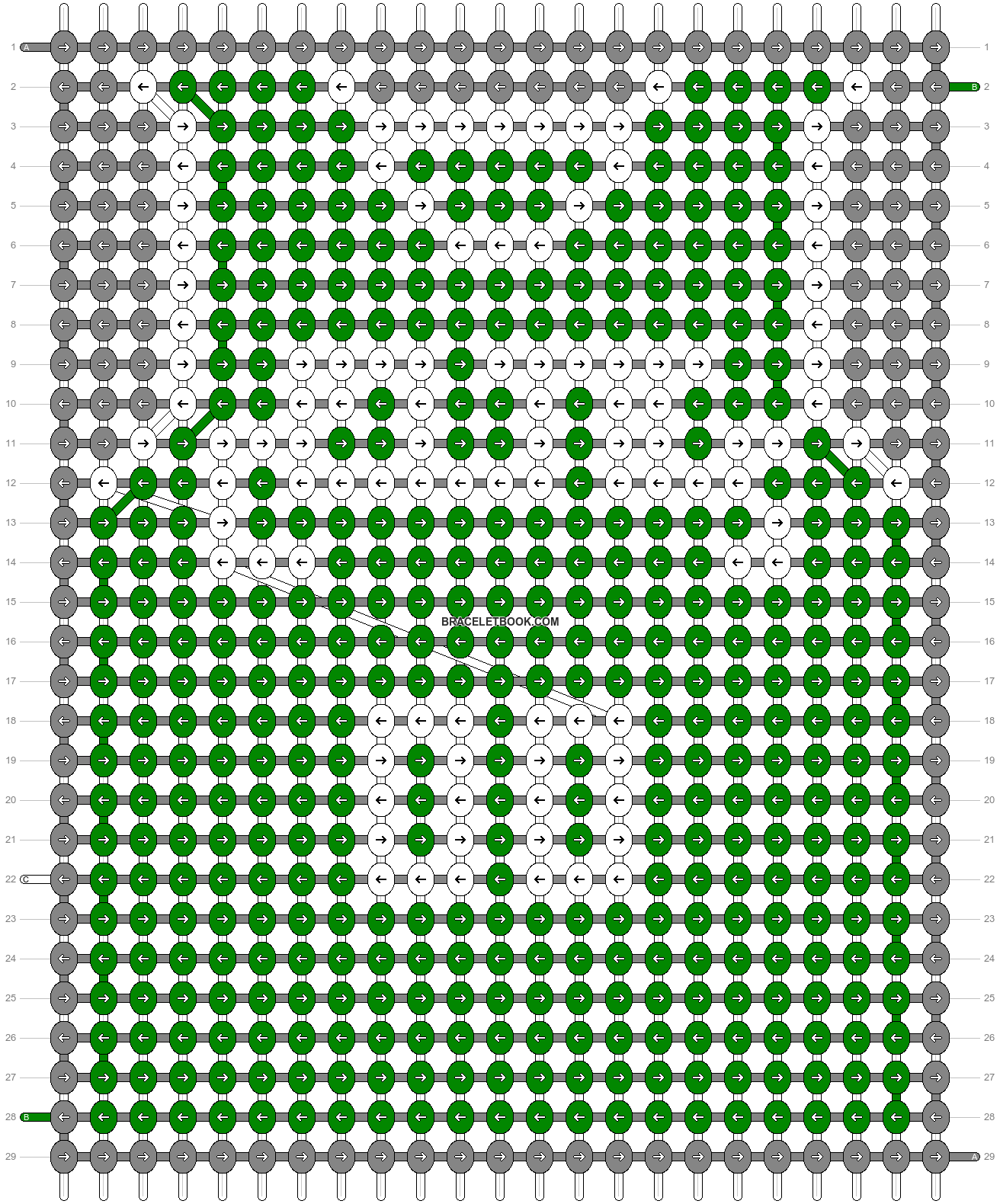 Alpha pattern #68863 pattern