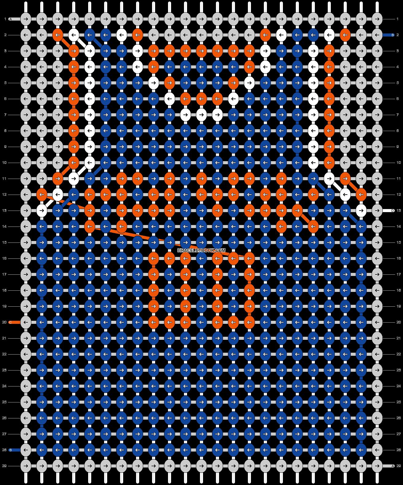 Alpha pattern #68865 pattern