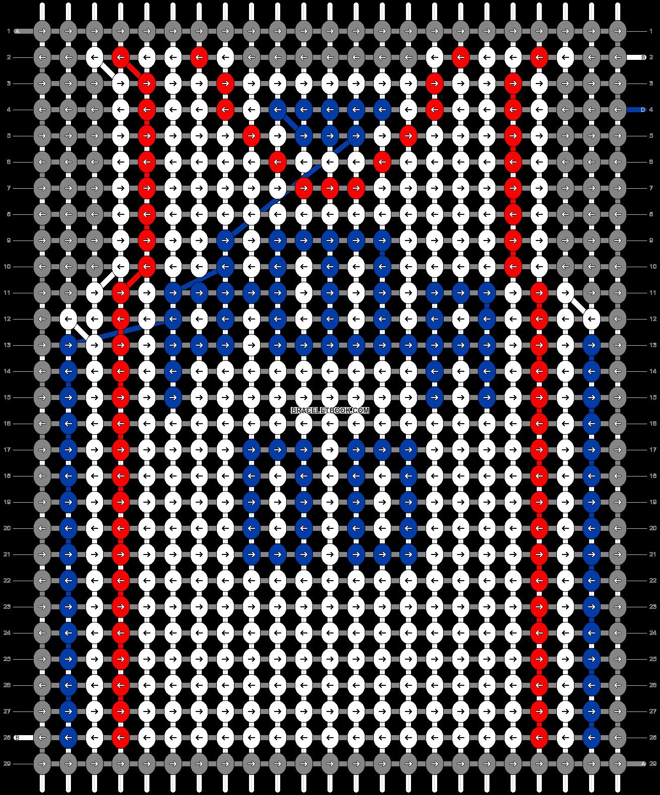Alpha pattern #68866 pattern