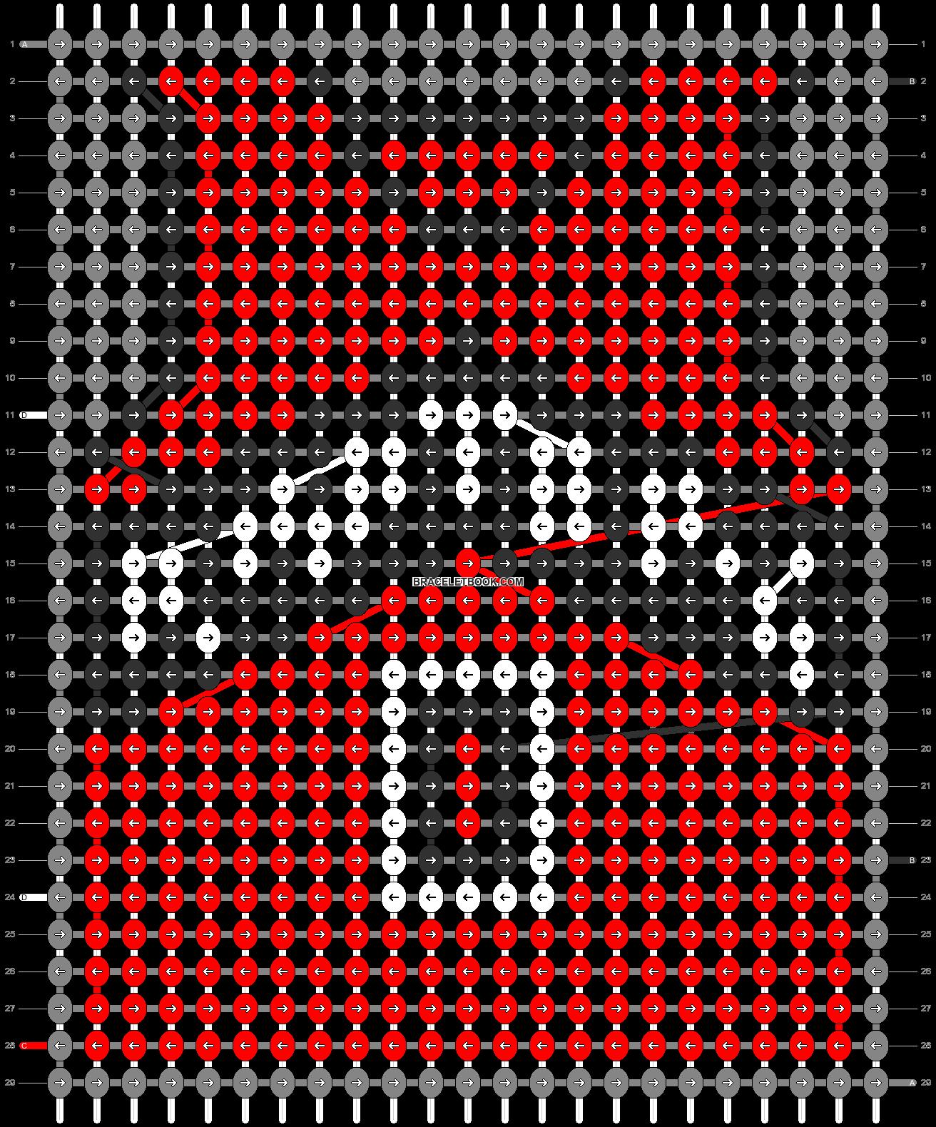 Alpha pattern #68867 pattern