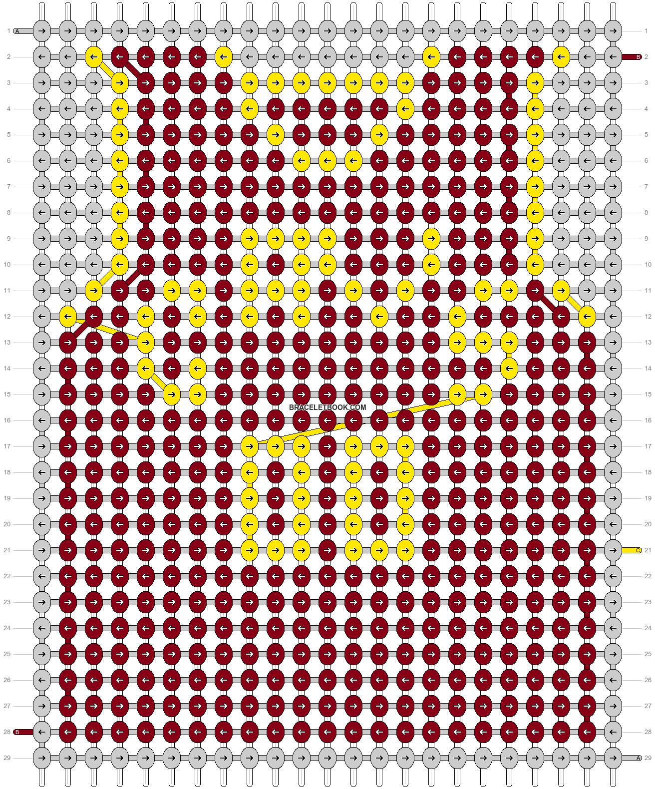 Alpha pattern #68870 pattern