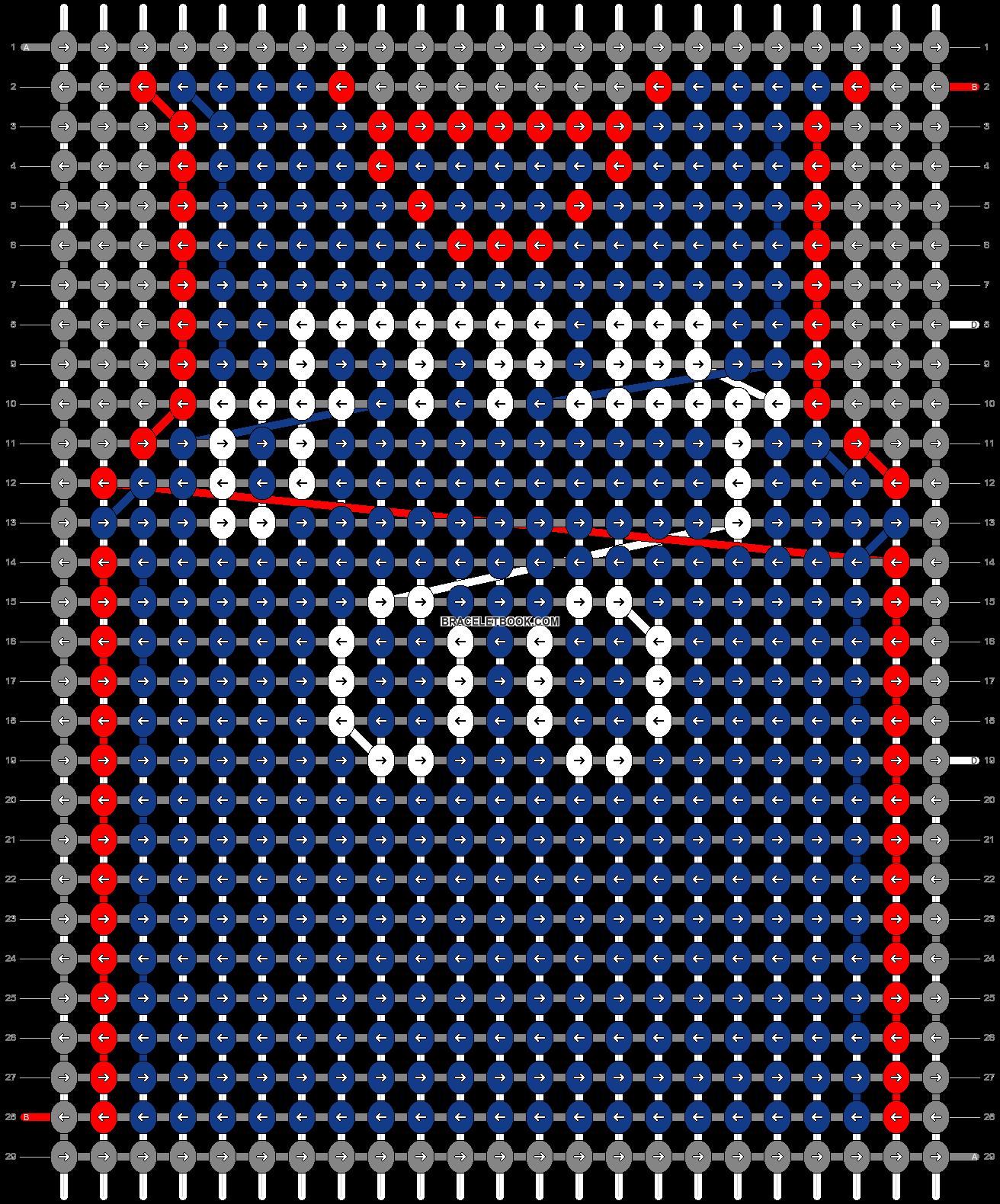 Alpha pattern #68871 pattern