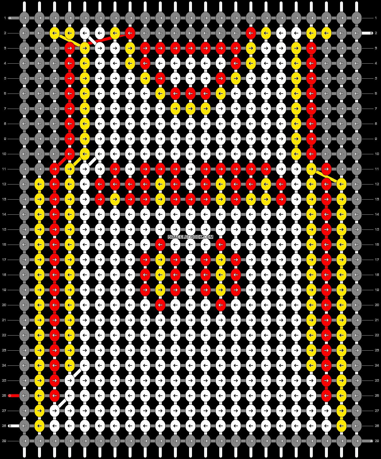 Alpha pattern #68874 pattern