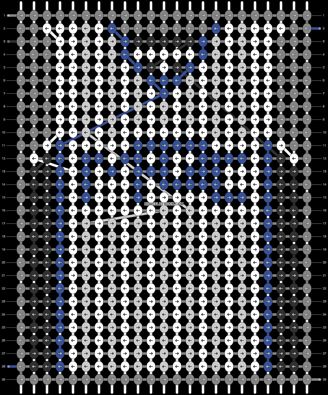 Alpha pattern #68877 pattern