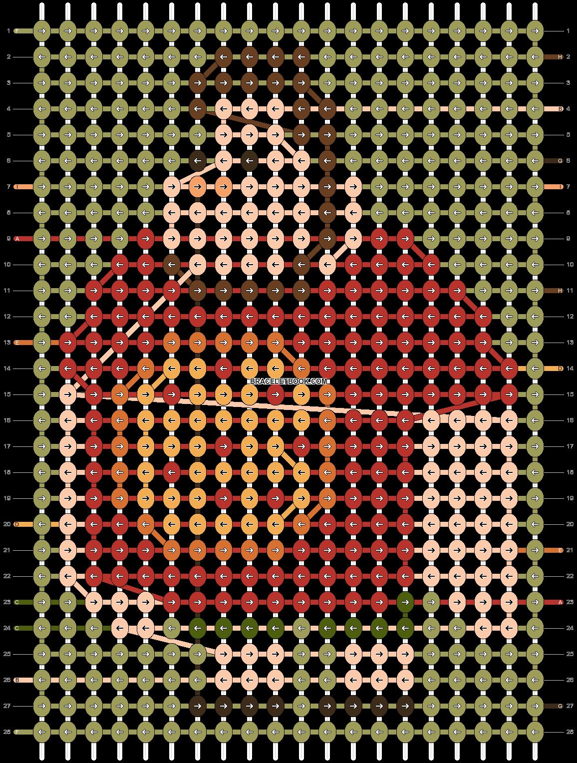 Alpha pattern #68906 pattern