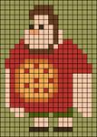 Alpha pattern #68906