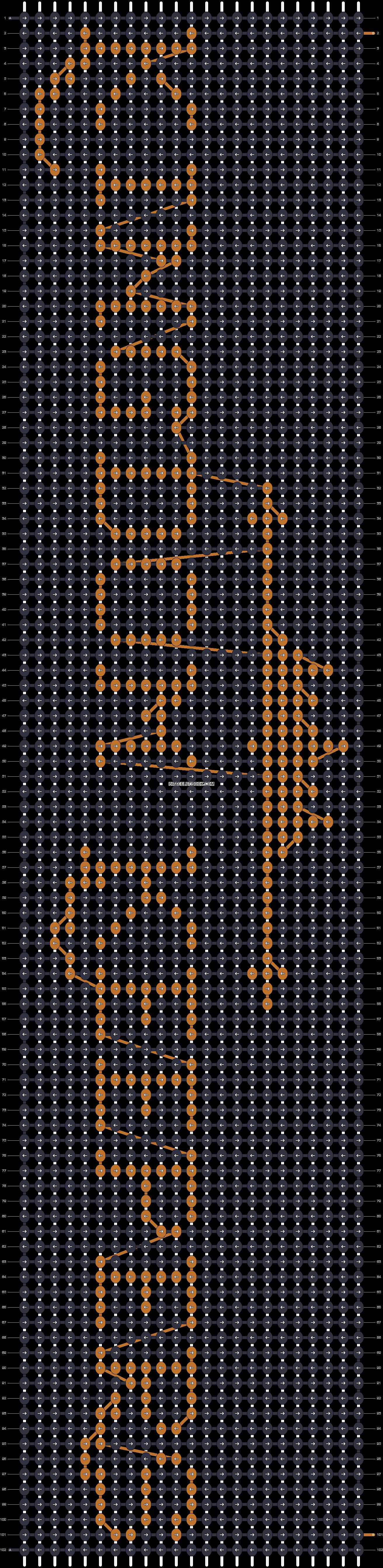 Alpha pattern #68925 pattern