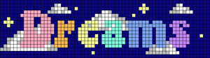 Alpha pattern #68950