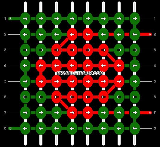 Alpha pattern #68955 pattern