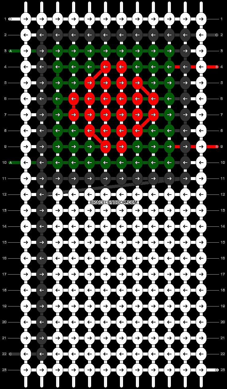 Alpha pattern #68975 pattern