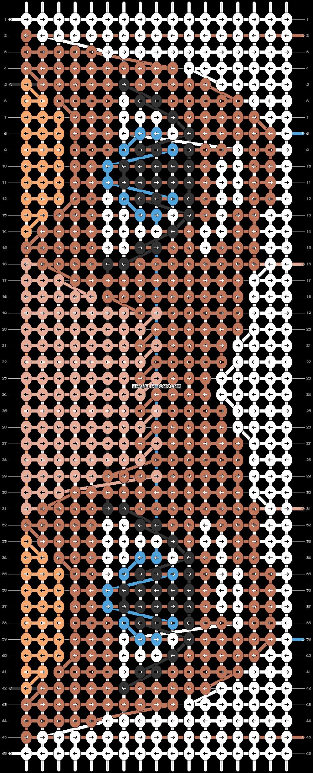 Alpha pattern #68978 pattern