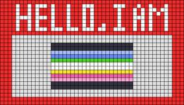 Alpha pattern #69027