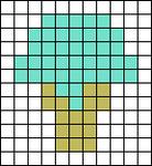 Alpha pattern #69058