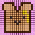 Alpha pattern #69085