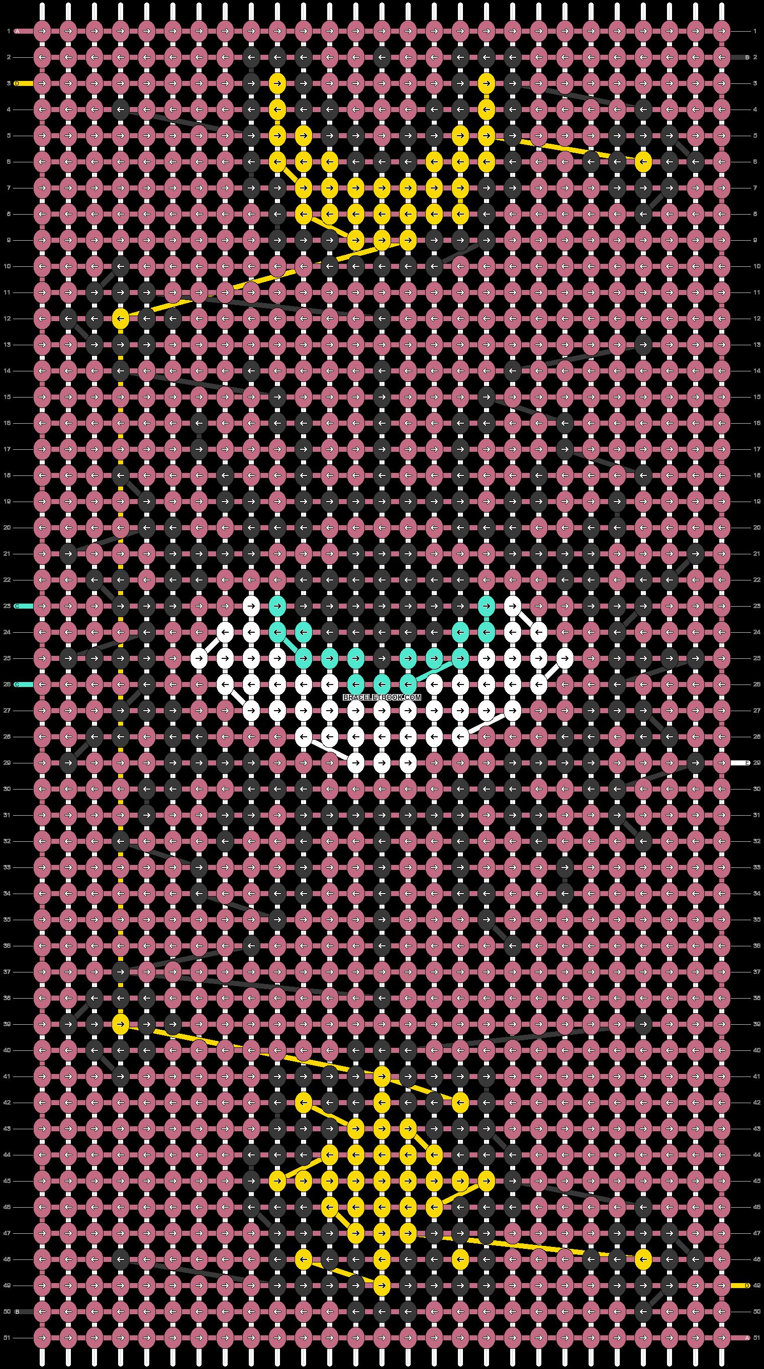 Alpha pattern #69138 pattern