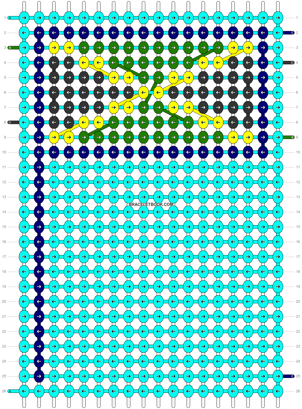 Alpha pattern #69153 pattern