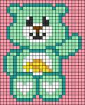 Alpha pattern #69203