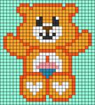 Alpha pattern #69205