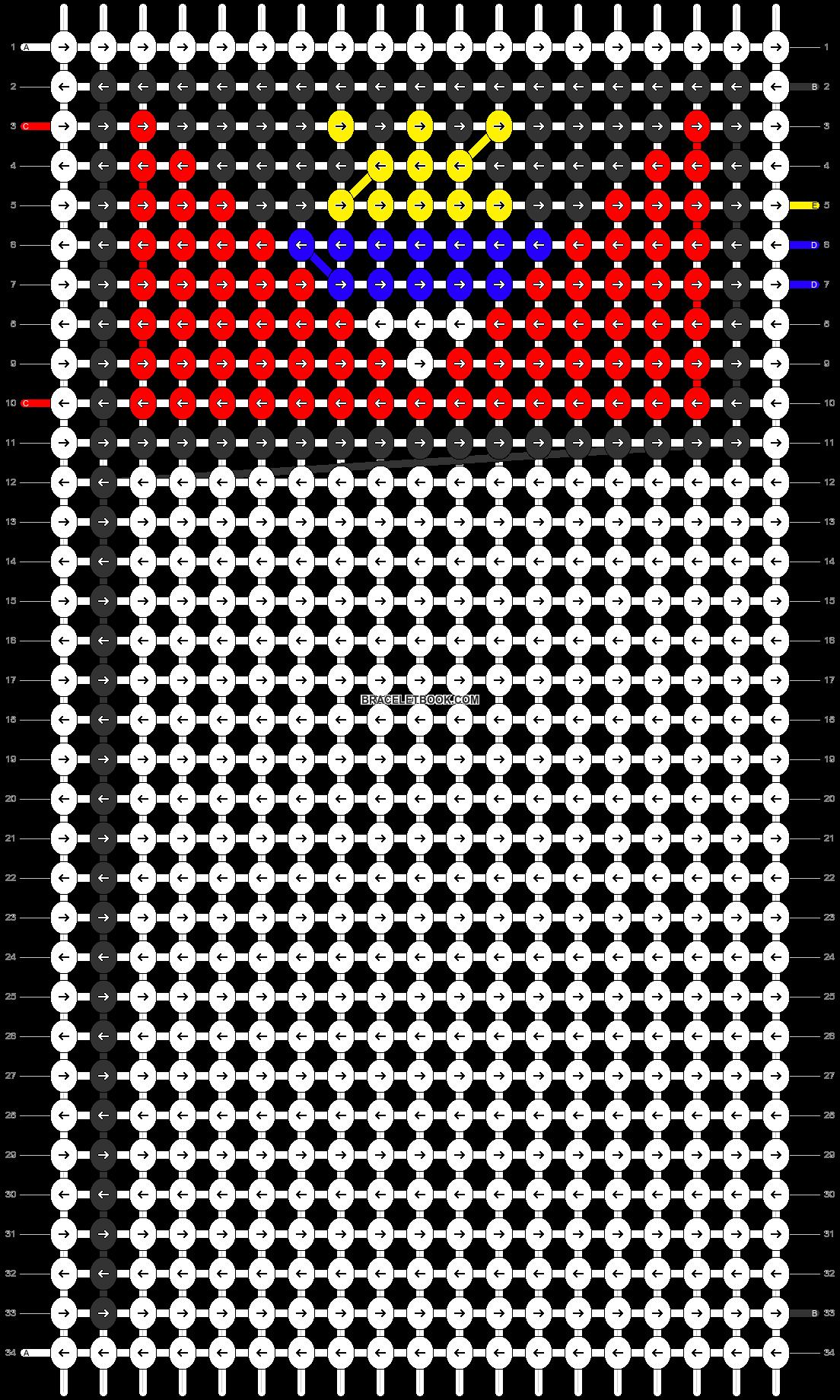 Alpha pattern #69215 pattern