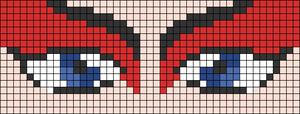 Alpha pattern #69233