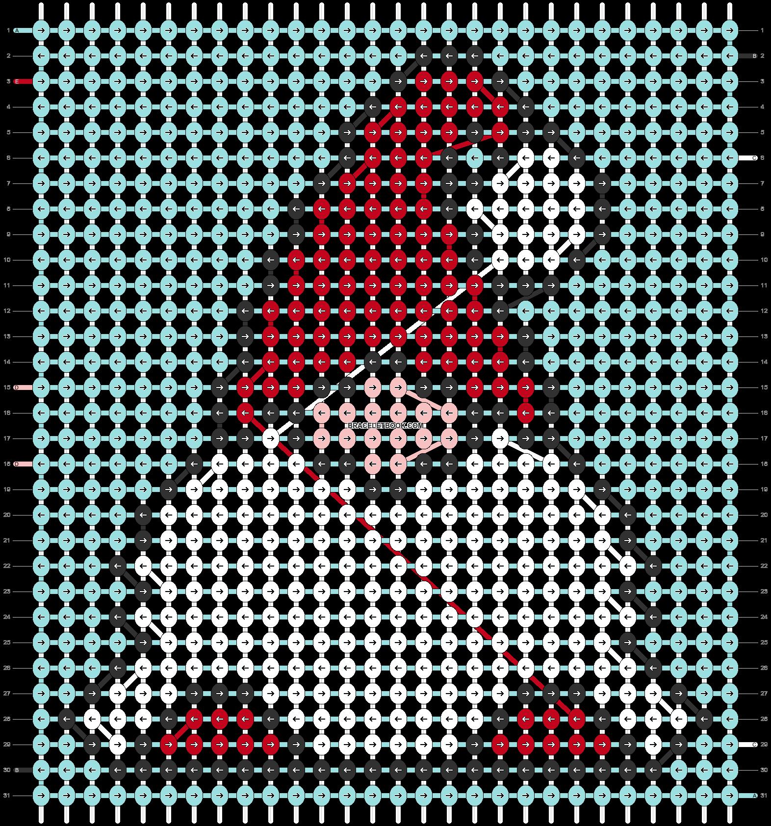 Alpha pattern #69277 pattern