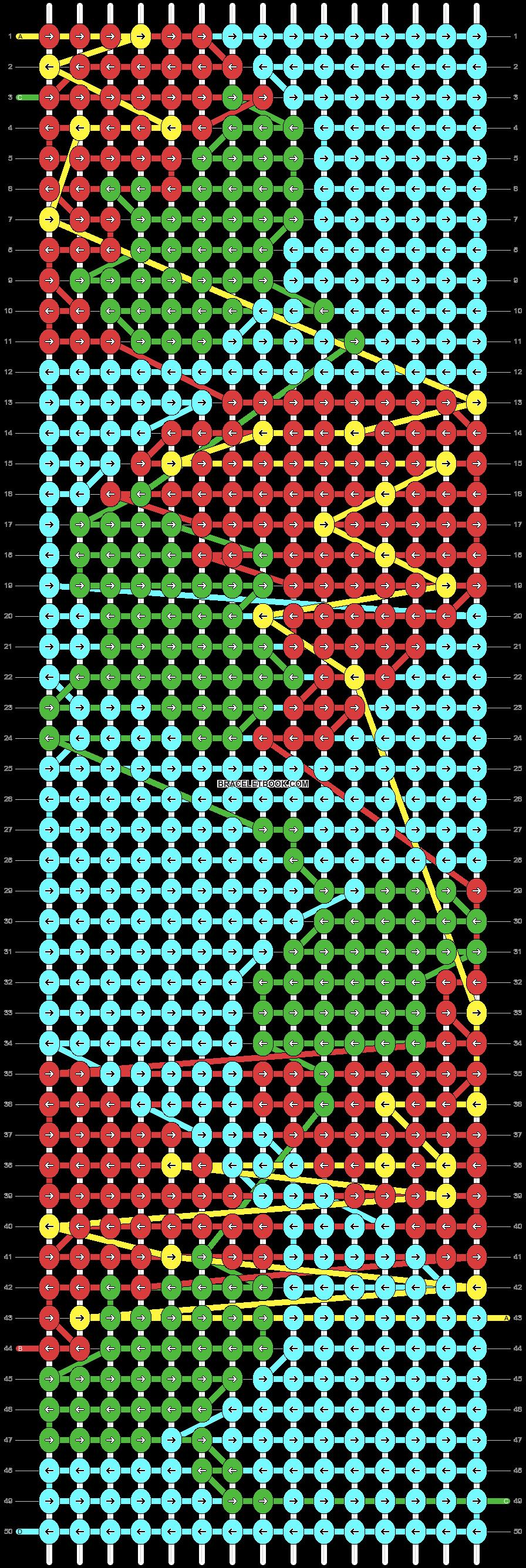 Alpha pattern #69286 pattern