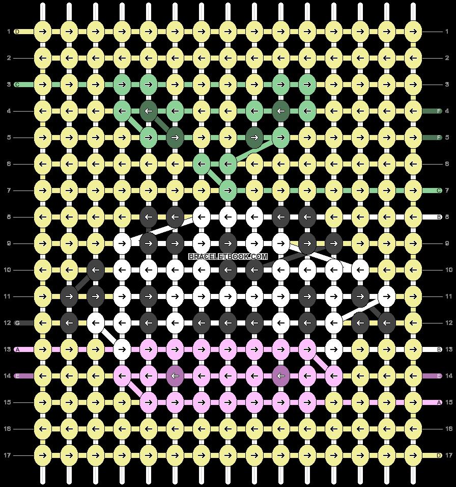 Alpha pattern #69331 pattern