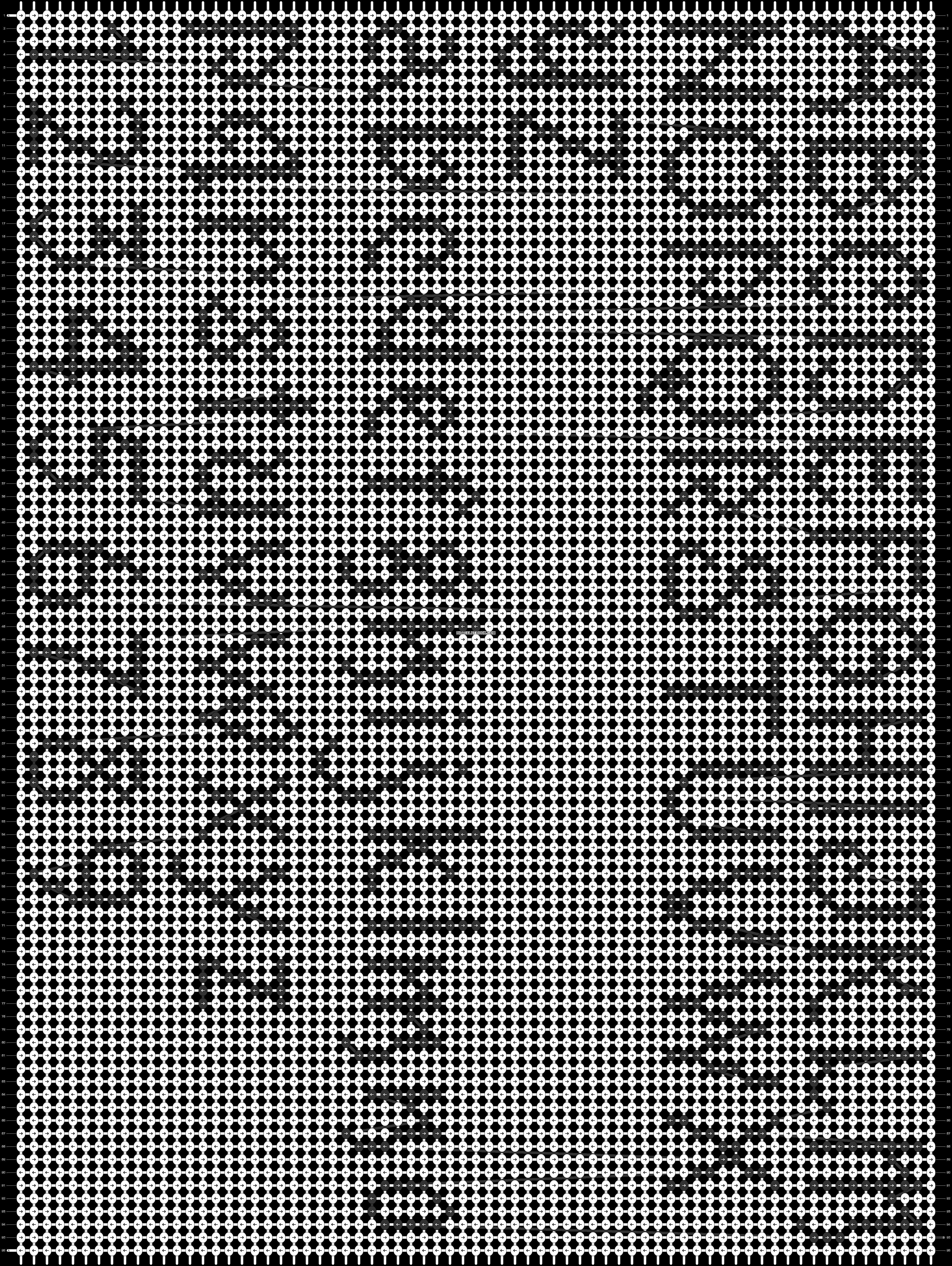 Alpha pattern #69345 pattern